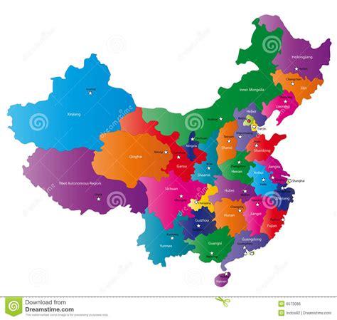 Carte De Image Libre by Carte De La Chine Image Libre De Droits Image 6573086