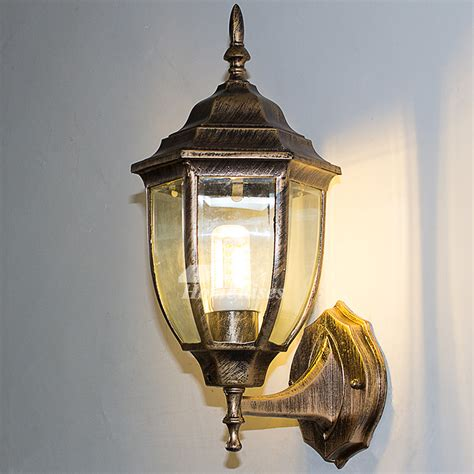 exterior wall sconce outdoor decorative lighting glass