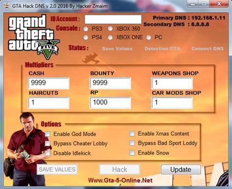 Gta Dns Codes , Gta Dns Hack , Gta Online Hack , Xbox One