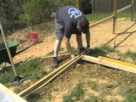 how to level a shed how to level ground 0006