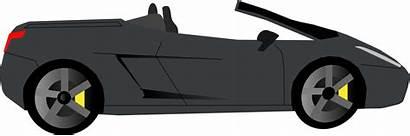Clipart Side Clip Sports Convertible Cars Cartoon