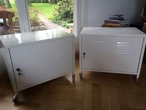 Ikea Ps Metallschrank : ich biete hier zwei ikea schrank ps rollcontainer in wei mit rollen in sehr gutem gebrauchtem ~ Yasmunasinghe.com Haus und Dekorationen