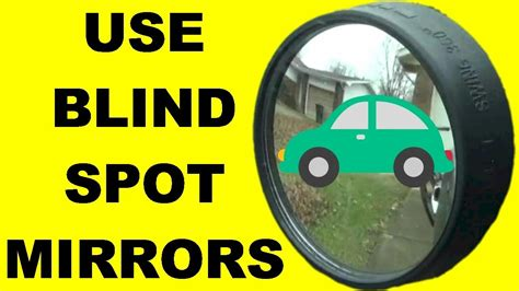 driving around in cyberabad beware how to use blind spot mirrors to increase driver safety