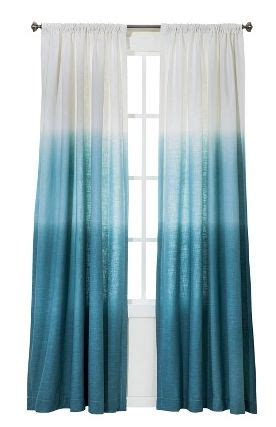 blue ombre curtains from target inspired nursery