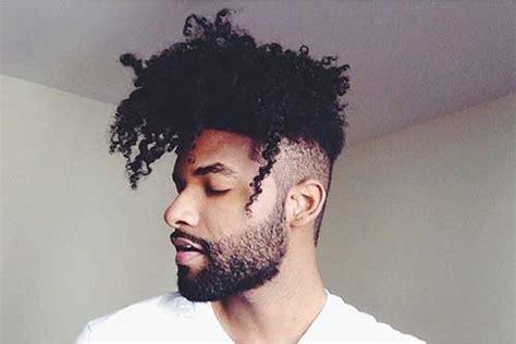 pictures  black men  long curly hair  undercut