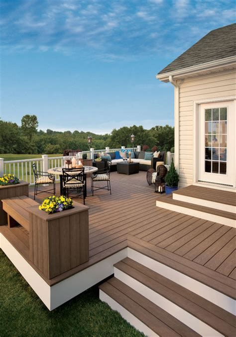 trex composite decking traditional deck baltimore