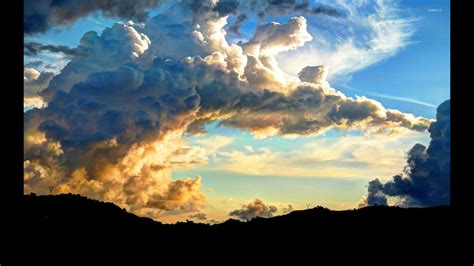 Clouds Full Amazing Sky Time Lapse Youtube