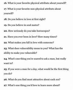 100 Deep Personal Questions To Ask A Guy or Boyfriend - satukis info