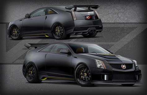 cadillacs  hp le monstre cts  coupe  debut