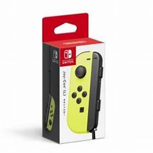 Nintendo Switch Joy Con L Neon Yellow Limited Version