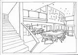 Perspective Point Bedroom Drawing Dining Getdrawings Sea Communication sketch template