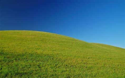 green landscape blue sky wallpaper