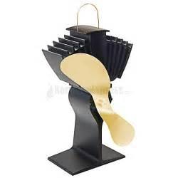 heat powered wood stove fan ecofan airmax heat powered wood stove fan gold colored