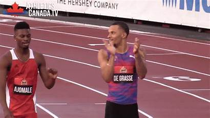 Bolt Usain 100m Runnerspace Canada Gifs Giphy