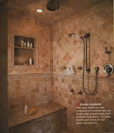 bathroom shower ideas our master bathroom spa shower plans times guide to log homes