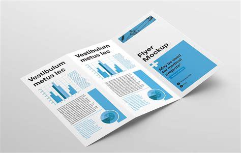 tri fold flyer mock ups dealjumbocom discounted