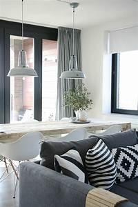 deco salon scandinave en 75 idees pour interieur moderne With salle de bain design avec fournisseur coussin décoratif