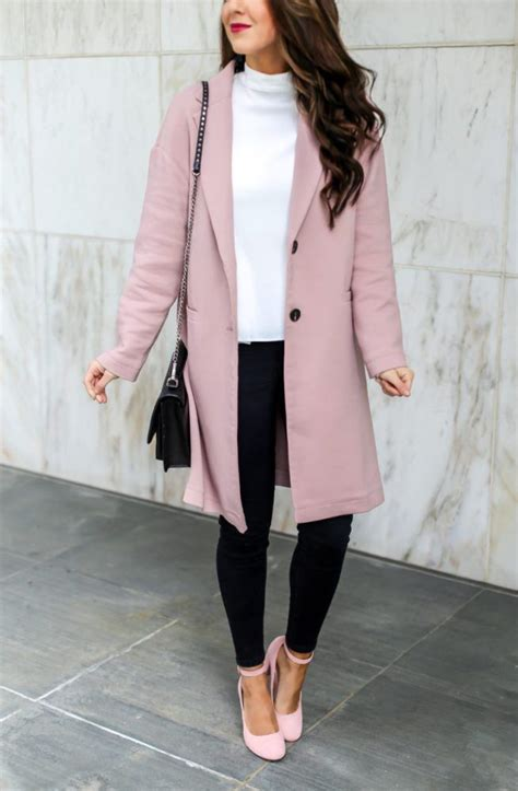 Classic Pink Coat and a Style for the Office | Pinterest ...