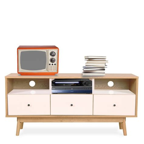 canapé retro meuble tv scandinave skoll by drawer
