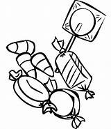 Candy Drawing Coloring Pages Clipartmag sketch template