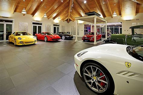 car collectors  million home  showroom garage