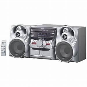 Jvc Mxkc45 400-watt 3-disc Cd Changer System