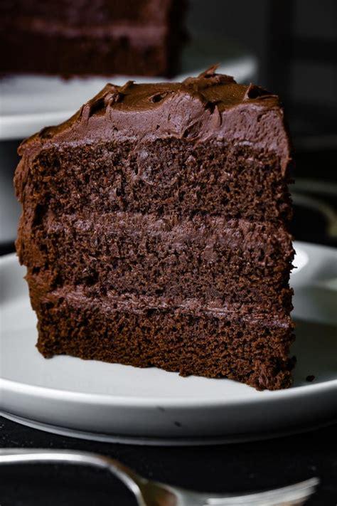 perfect moist chocolate cake  sweet basil