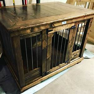 handcrafted dog kennel and dog crate custom dog kennel With custom dog crates for home