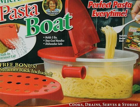 plastic cooking tools microwave pasta boat boxes food cookware microwave storage  steam boxes