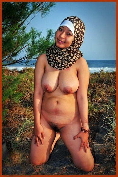 hijab nude in beach [hijab telanjang di pantai] photo album by kamikichi xvideos