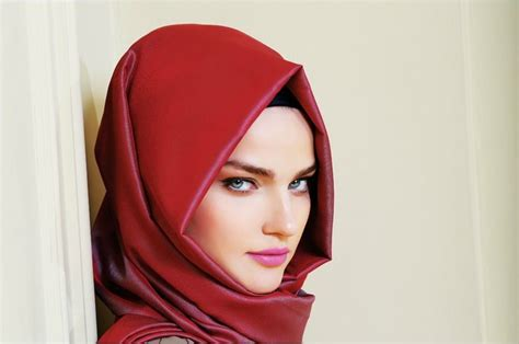 mettre et nouer foulard turque