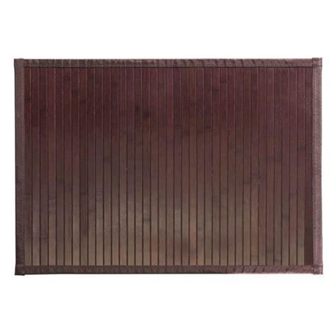 bamboo shower mat formbu mocha bamboo mat small in shower and bath mats