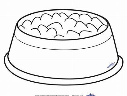 Bowl Dog Clipart Clip Dish Library Cliparts