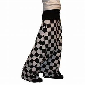 Damier Noir Et Blanc : sarouel damier noir et blanc ~ Dallasstarsshop.com Idées de Décoration