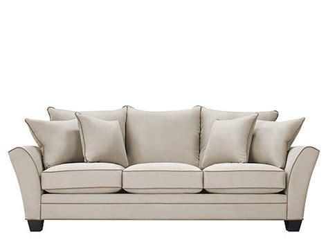 Briarwood Microfiber Sofa Dimensions by Briarwood Microfiber Sofa Sofas Raymour And Flanigan