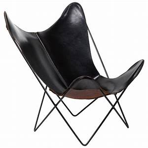 Butterfly Chair Original : leather butterfly chair by jorge ferrari hardoy for knoll for sale at 1stdibs ~ Sanjose-hotels-ca.com Haus und Dekorationen