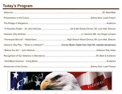 veterans day program veterans day program at heartland today recording heartlandbeat