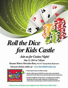 Free Event Tickets Template Roll The Dice For Kids Castle Bucks Happening