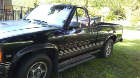 1989 Dodge Dakota Sport Convertible (Rag top) for sale