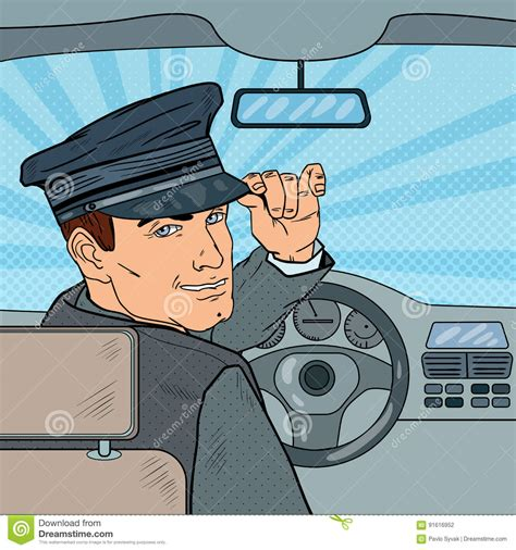 chauffeur cartoons illustrations vector stock images