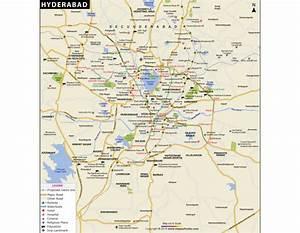 Buy Hyderabad City Map
