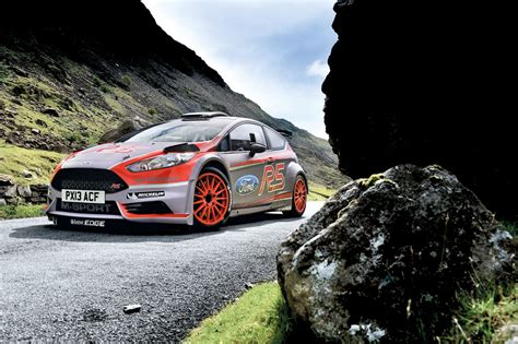 M-sport Ford Fiesta R5 Rally Car Video
