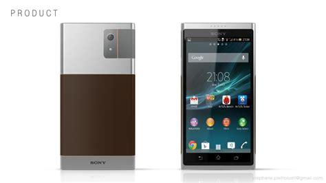 design a phone sony smartphone design leaves xperia tries