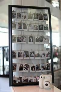 Fotos Schön Aufhängen : posterrahmen collage mit sofortbildkamera fotos fotos ~ Lizthompson.info Haus und Dekorationen