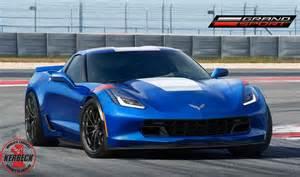 Red Corvette Grand Sport 2017