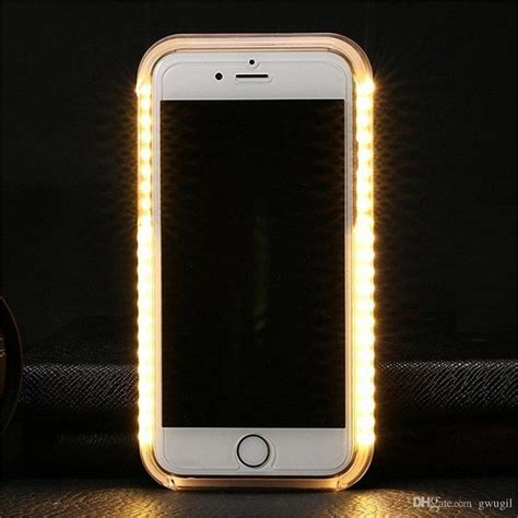 light up phone led light up selfie luminescence phone cover