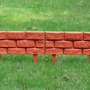 Copedvic, 11pcs, Garden, Lawn, Landscape, Edging, Lawn, Divider, With, Brick, Design, Decorative, Plant