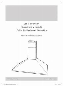 Electrolux Fhwc3055lsa Use  U0026 Care Guide