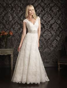 beautiful photos of lace a line wedding dresses for With a line lace wedding dress