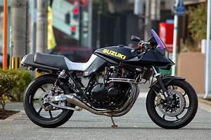 Racing Caf U00e8  Suzuki Gsx 1100 S Katana By Quarter